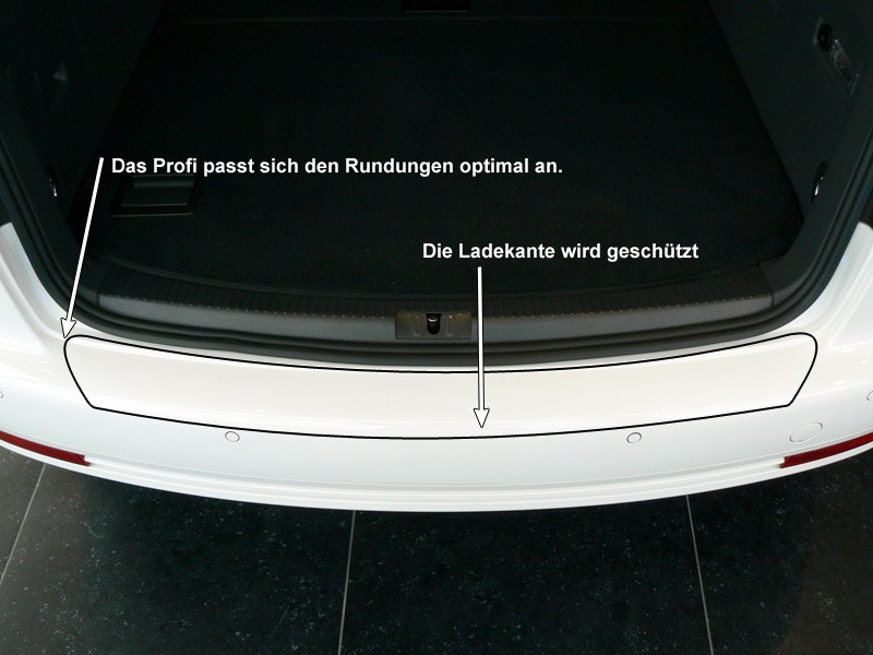LADEKANTENSCHUTZ VW TOURAN Transparent