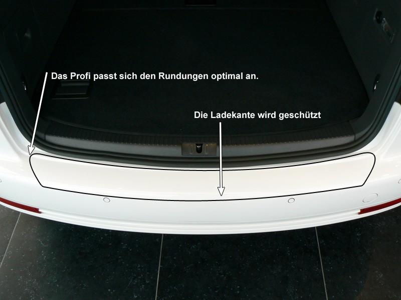 LADEKANTENSCHUTZ VW TOURAN Transparent