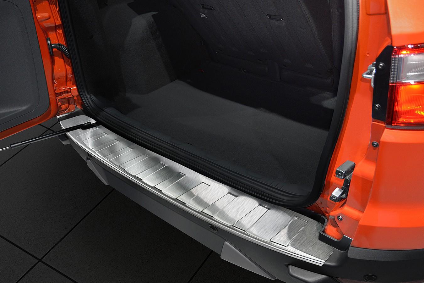 protezione per paraurti in acciaio inox adatta per ford ecosport 2 ii anno 2012 protezione. Black Bedroom Furniture Sets. Home Design Ideas