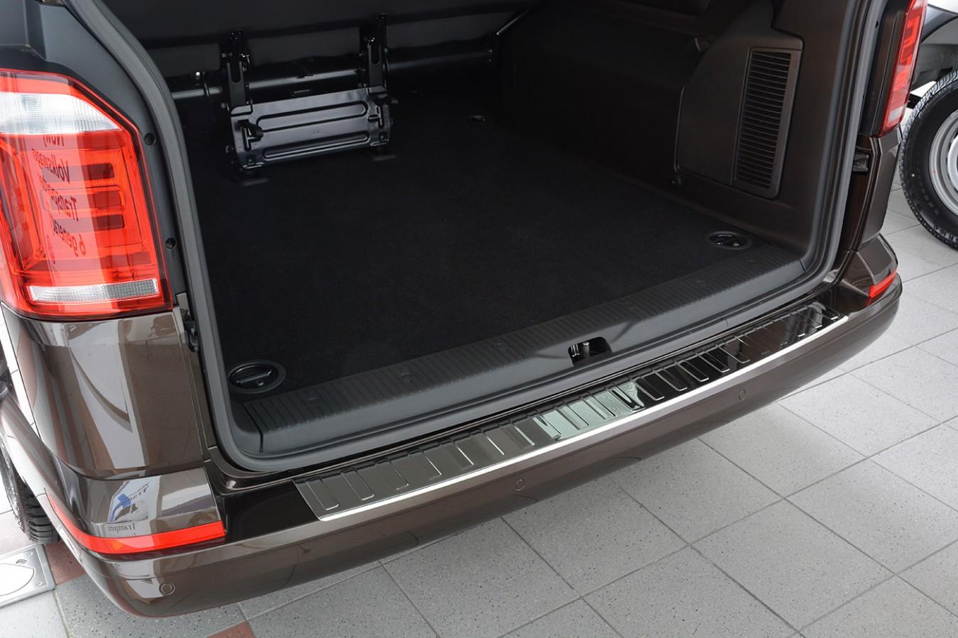 inox protezione paraurti per vw t6 multivan caravelle. Black Bedroom Furniture Sets. Home Design Ideas