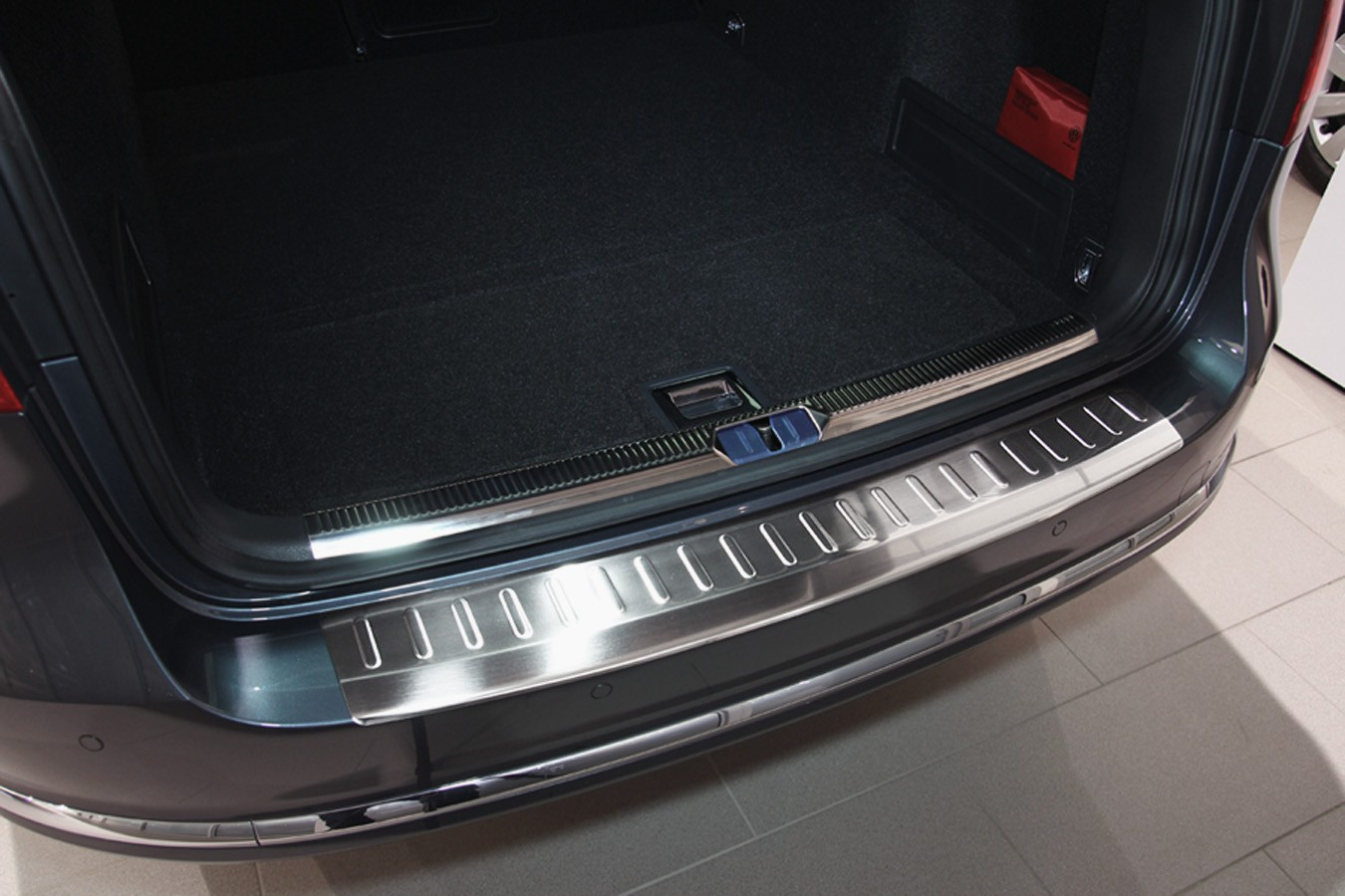 Stainless steel sills edge protection vw passat b from