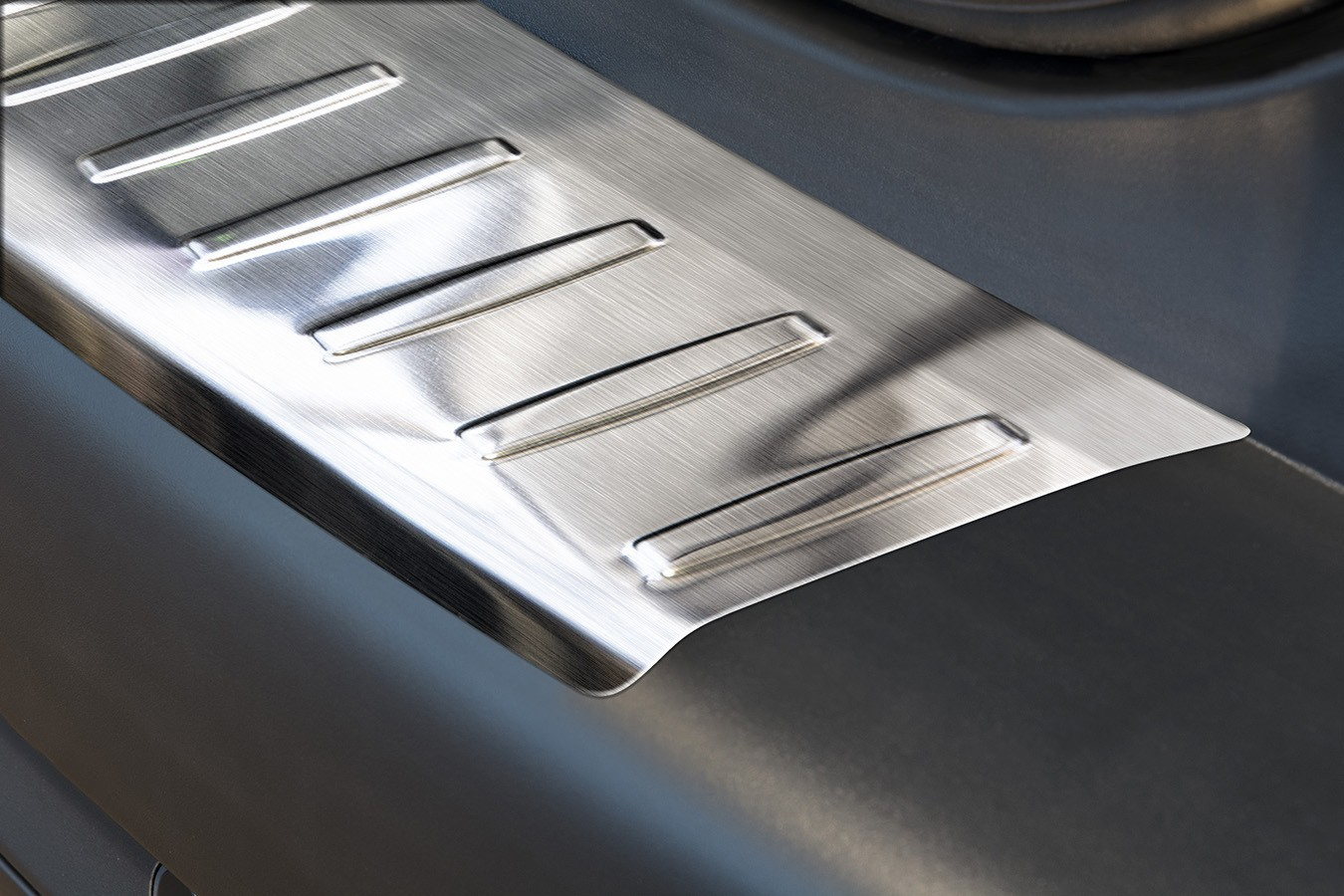 Stainless steel bumper protector for peugeot from