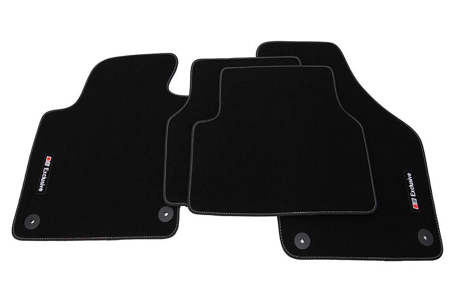 exclusive line tapis de sol de voitures pour vw tiguan 2007 12 2015 tapis de voiture pour vw. Black Bedroom Furniture Sets. Home Design Ideas
