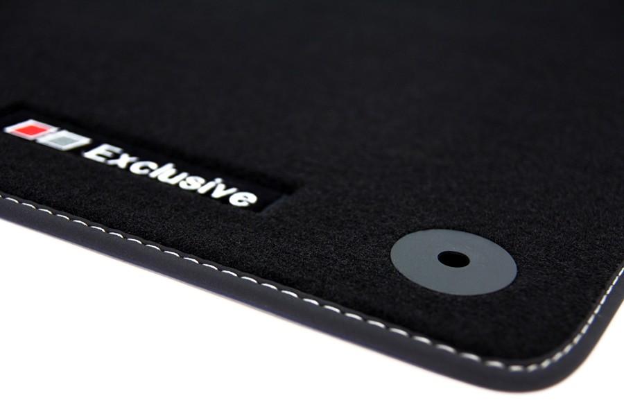 exclusive line tapis de sol de voitures pour vw polo v 6r. Black Bedroom Furniture Sets. Home Design Ideas