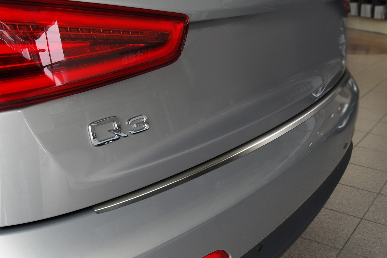 Stainless steel bumper protector for audi q from