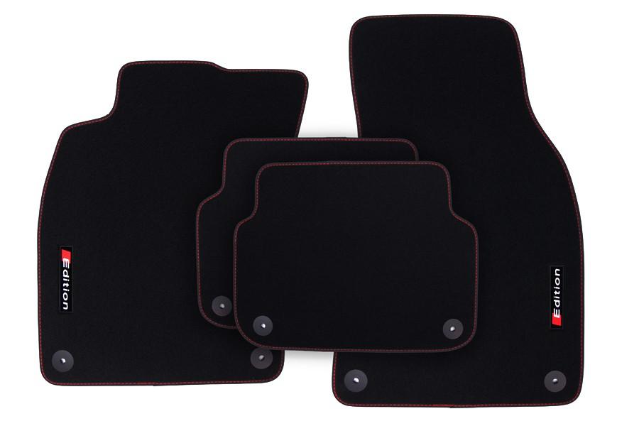 edition fu matten f r audi s line s6 a6 4f c6 baujahr. Black Bedroom Furniture Sets. Home Design Ideas