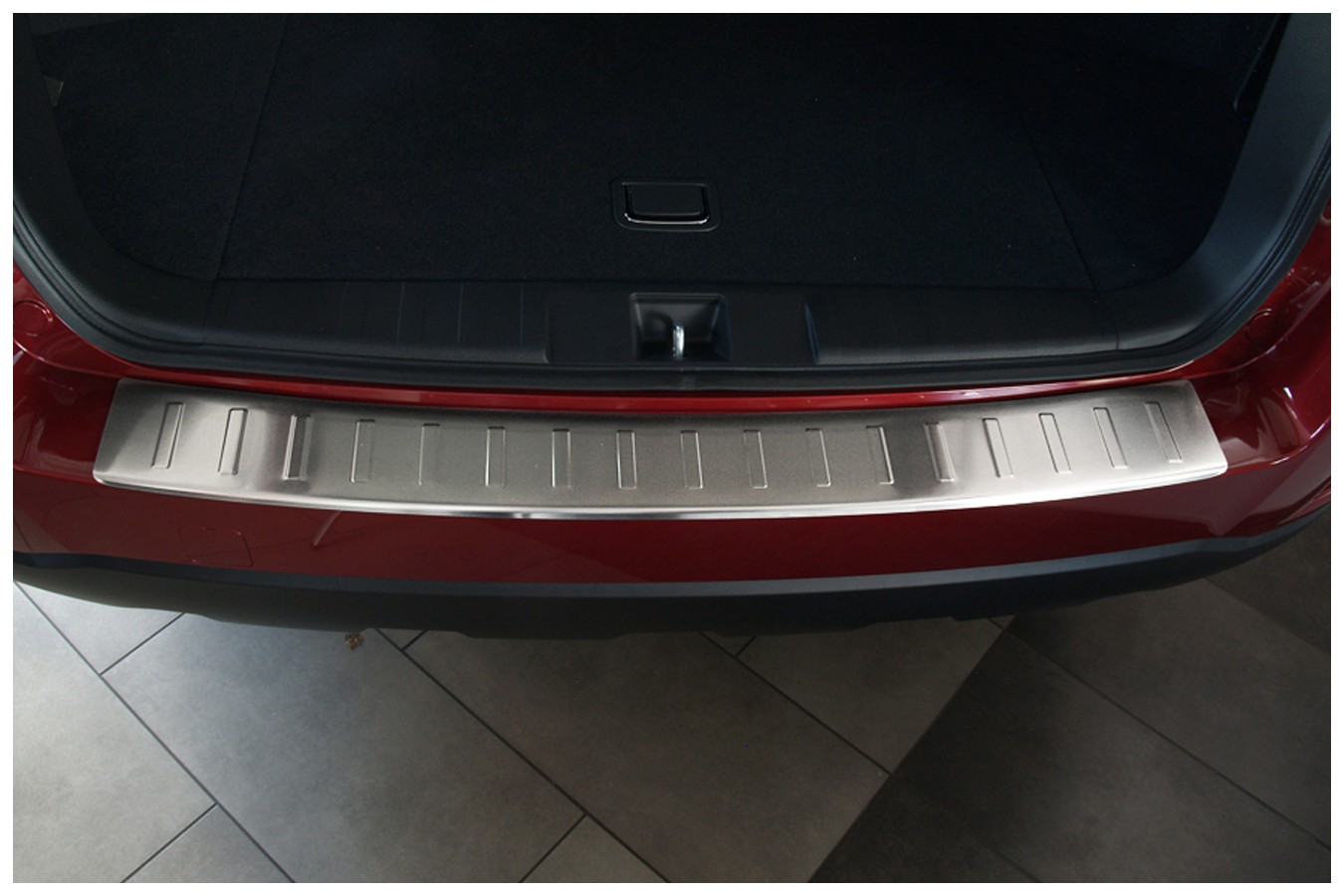 Stainless steel bumper protector for subaru outback iv