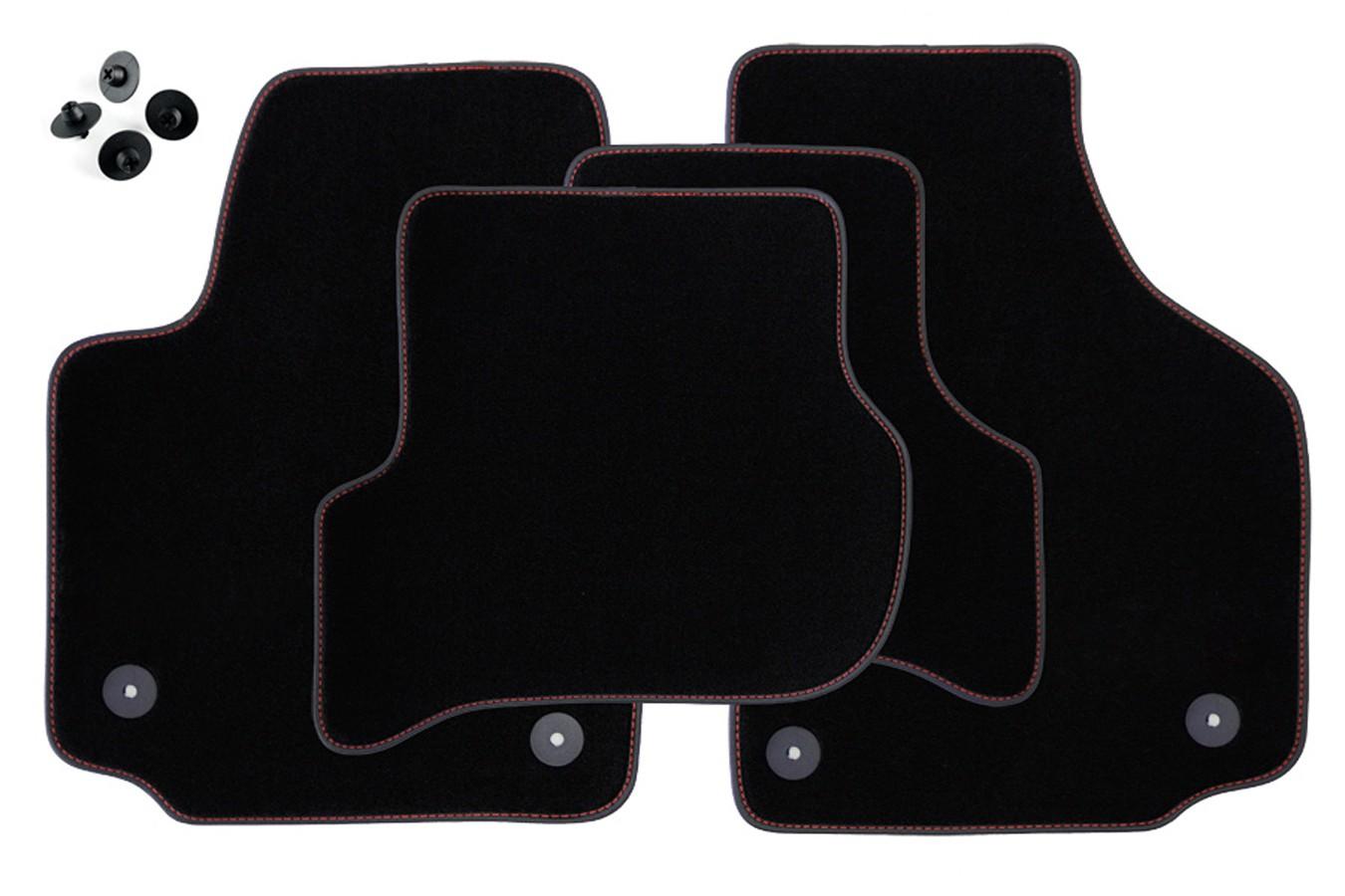 exclusive line fu matten f r seat leon 2 ii 1p ab bj 2005. Black Bedroom Furniture Sets. Home Design Ideas