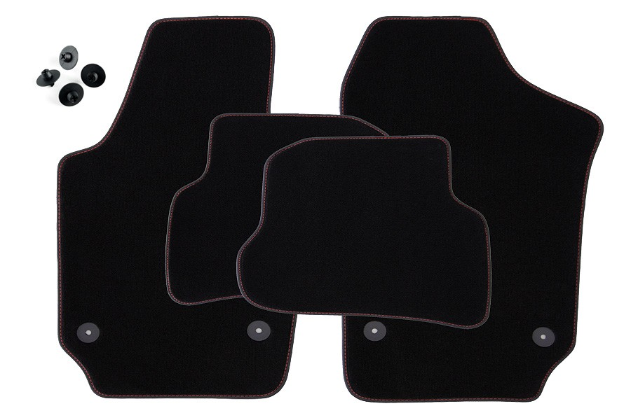 Line Art Xl 2008 : Exclusive line floor mats for seat ibiza j p mkv from