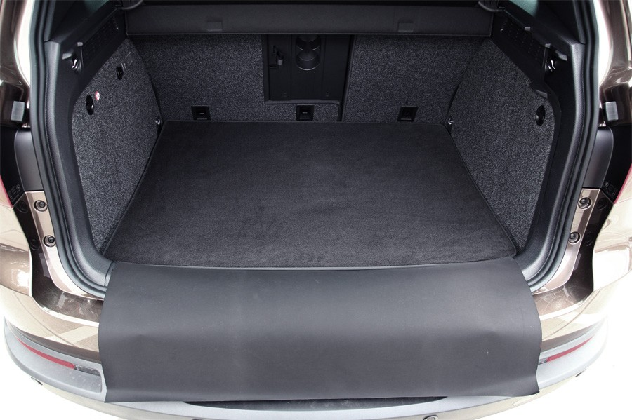 2 pi ces tapis de coffre pour vw tiguan 2007 12 2015 tapis de coffre pour vw. Black Bedroom Furniture Sets. Home Design Ideas