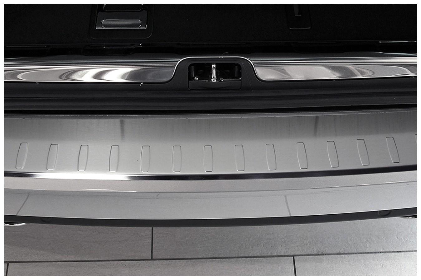 Protection Des Bords De Chargement En Acier Pour Citroen C5 Tourer Ii Acier Inox Protection Pare