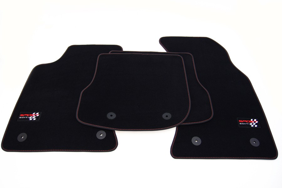 sport edition floor mats for audi a4 b5 8d facelift from. Black Bedroom Furniture Sets. Home Design Ideas