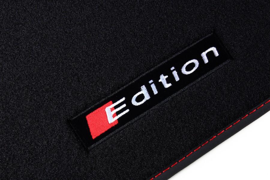 edition tapis de sol de voitures de voiture pour audi s. Black Bedroom Furniture Sets. Home Design Ideas