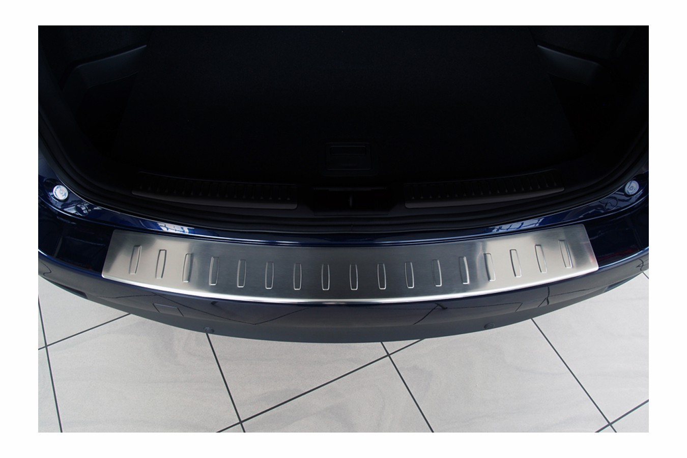 Stainless steel bumper protector for ford b max mk i from