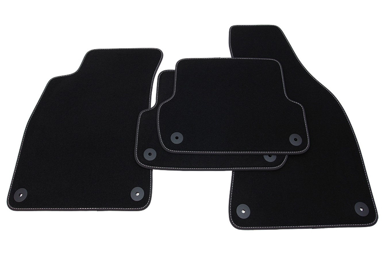 winter floor mats for audi a4 8e b6 b7 2000 2008 black. Black Bedroom Furniture Sets. Home Design Ideas