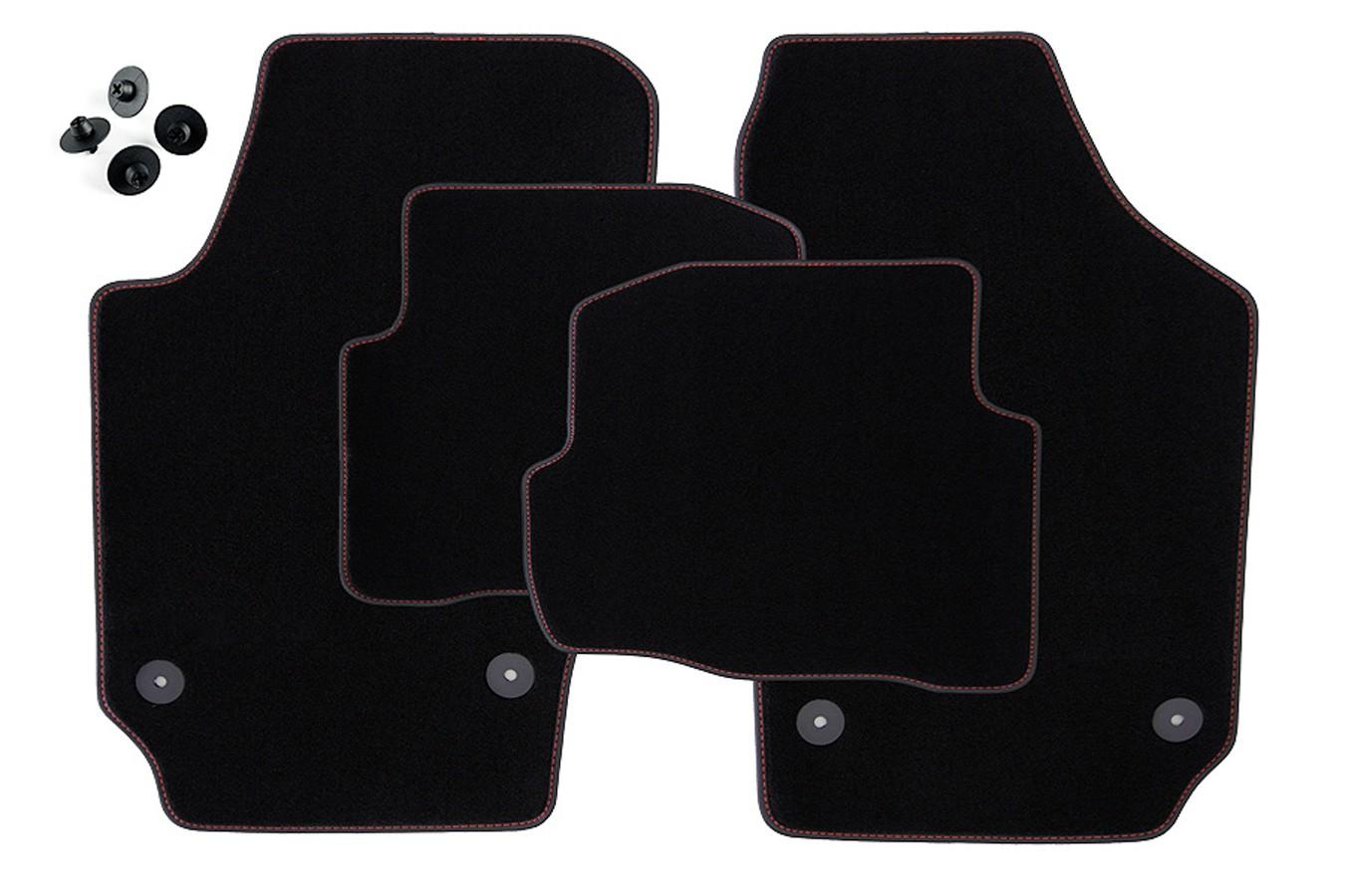 tapis de sol en hiver pour seat ibiza 6l ann e 2002 2008. Black Bedroom Furniture Sets. Home Design Ideas