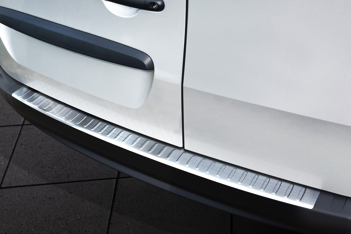 Stainless steel bumper protector for mercedes citan from