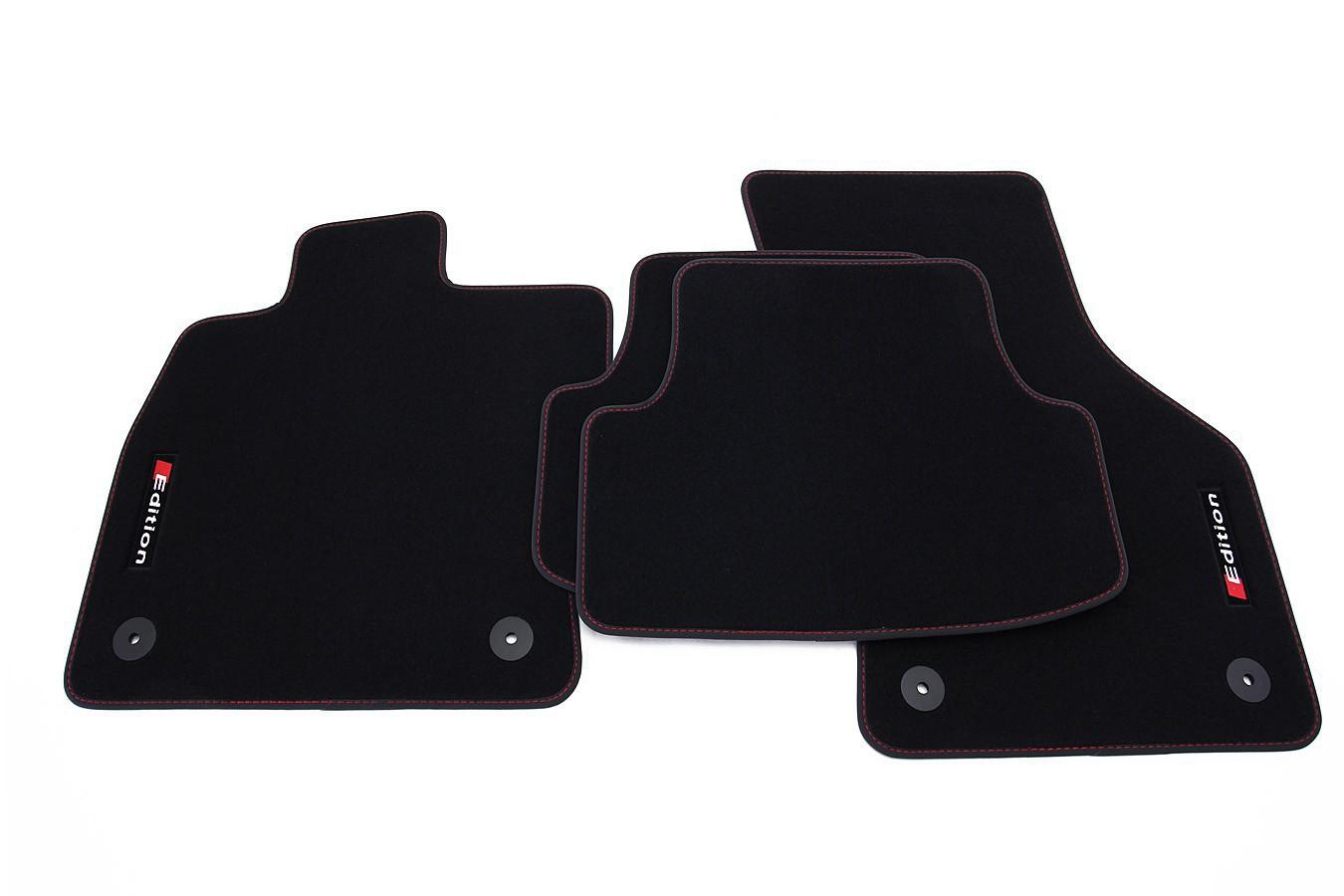edition fu matten f r vw golf 7 vii limo variant fu matten f r vw exclusive line. Black Bedroom Furniture Sets. Home Design Ideas